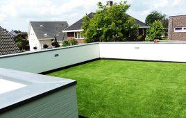 Premium Kunstrasen für die moderne Dachterrasse