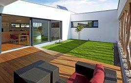 Premium Kunstrasen für den modernen Wintergarten