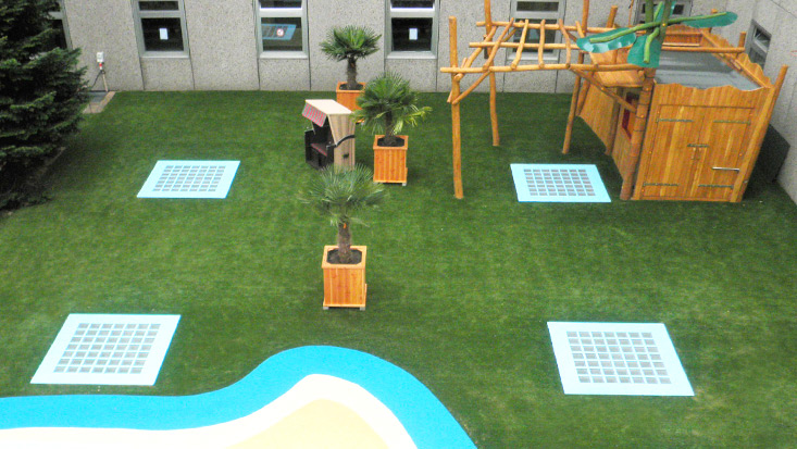 Premium Kunstrasen für die gehobenen Anspruch im Garten