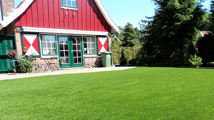 Premium Kunstrasen für den privaten Garten